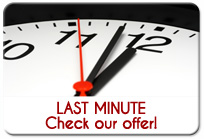 Special offer - lastminute
